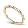 Grain Set Diamond Fairtrade Eternity Ring