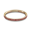 Grain Set Ruby Fairtrade Eternity Ring
