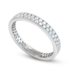 Fairtrade Gold Ladies Eternity Ring by Valerio Jewellery