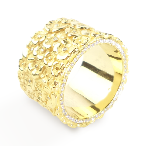 Garden Fairtrade Gold Ring