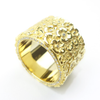 Fairtrade Gold Ring designed by Carla Shanks