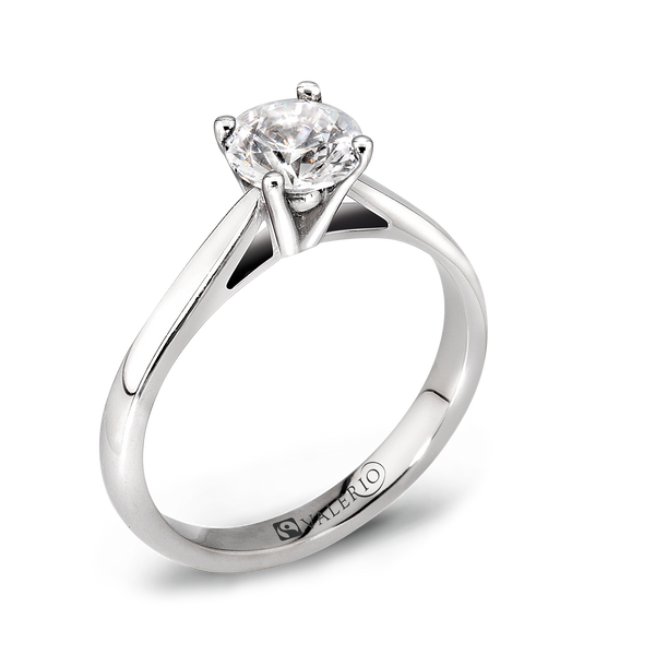 Classical 4 Claw Solitaire Diamond Engagement Ring