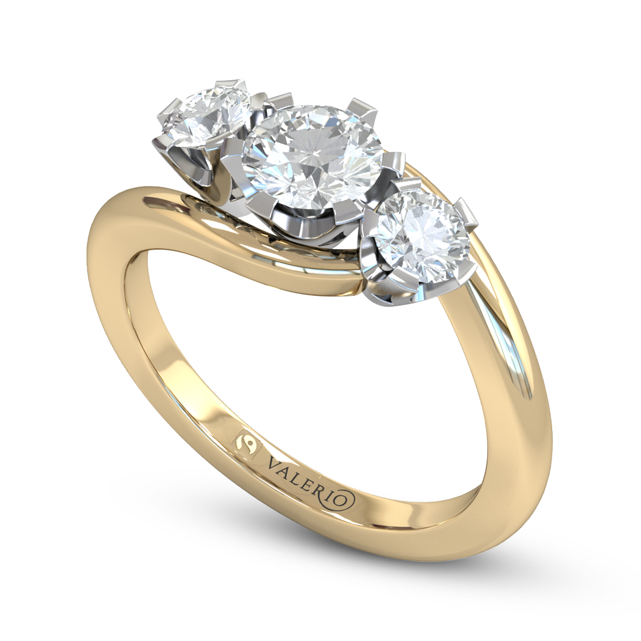 rings band products fine gold pure enlarged wedding realreal ring the jewelry