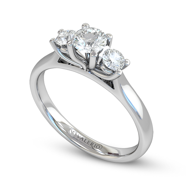 3 Stone Ethical Diamond Engagement Ring