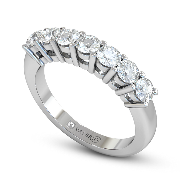Double Bezel Set Divine 7 Diamond Eternity Ring