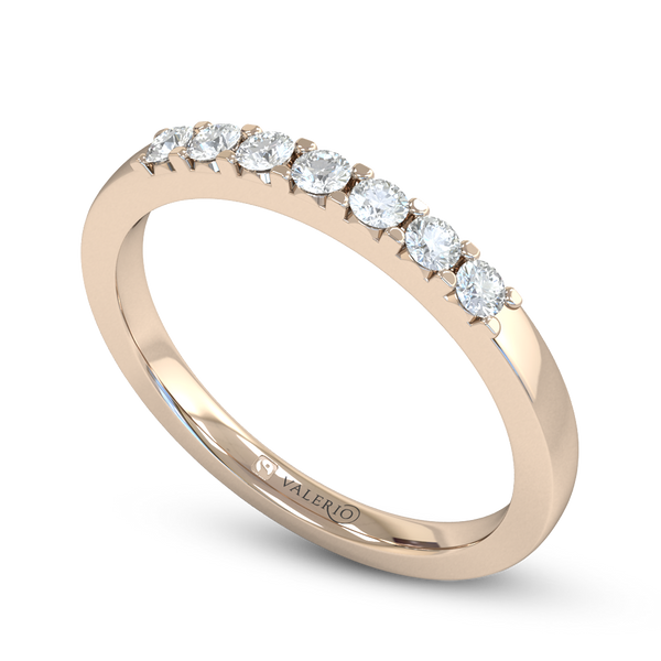 Divine 7 Stone Diamond Eternity  Ring