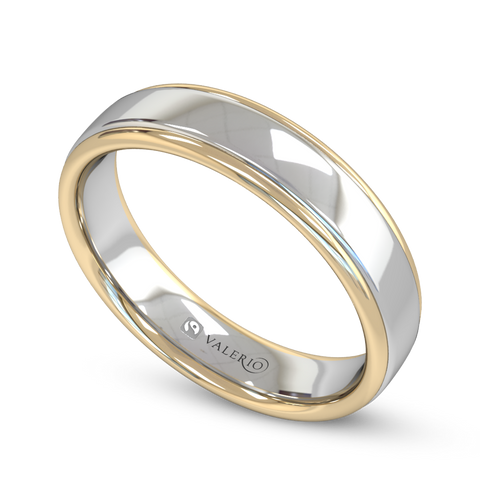 Fairtrade 2 Gold Court His & Hers Wedding Ring