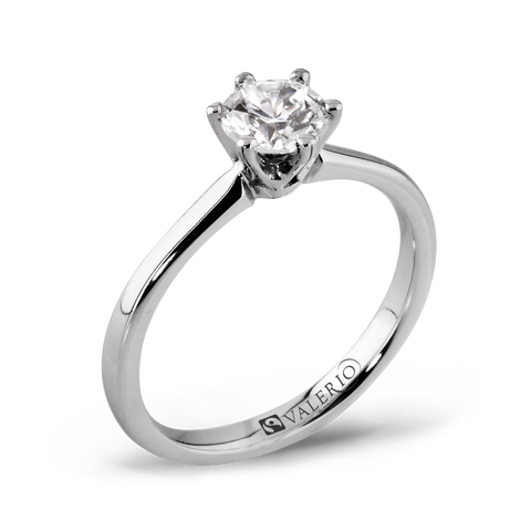 Classical Solitaire Diamond Engagement Ring