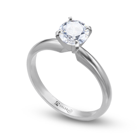 CanadaMark™ Diamond Fairtrade Gold Engagement Ring