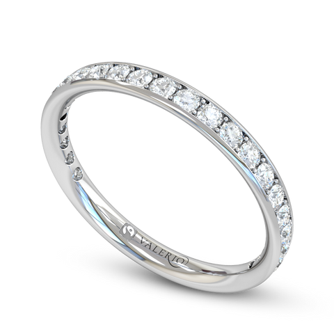 Grain Set Diamond 3/4 Round Fairtrade Eternity Ring