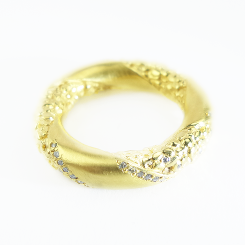 Garden Fairtrade Gold Thumb Ring