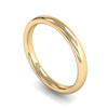 Fairtrade Gold Slight Court Women's Wedding Ring
