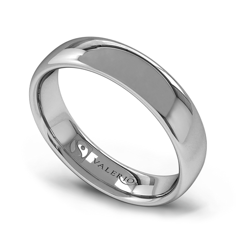 Fairtrade Sterling Silver Court Men's Wedding Ring