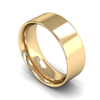 Fairtrade Gold Flat Court Men's Wedding Ring