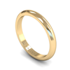 Fairtrade Gold D-Shaped Women's Wedding Ring