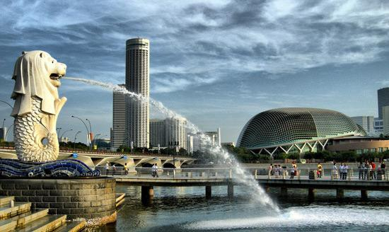 Michi's top destinations during a quick transit in Singapore