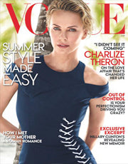 Charlize Theron - Vogue, June 2014 - Marie France Van Damme