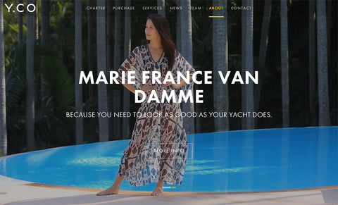 Marie France Van Damme Partner - Y.CO