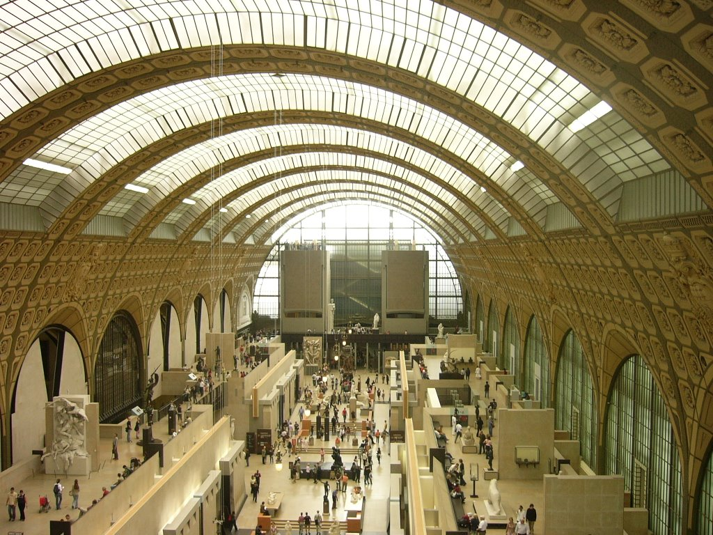 Musee d'Orsay Nave