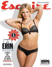 Erin Heatherton - Esquire Mexico, October 2013 - Marie France Van Damme