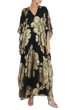 Big Flower Metallic Boubou