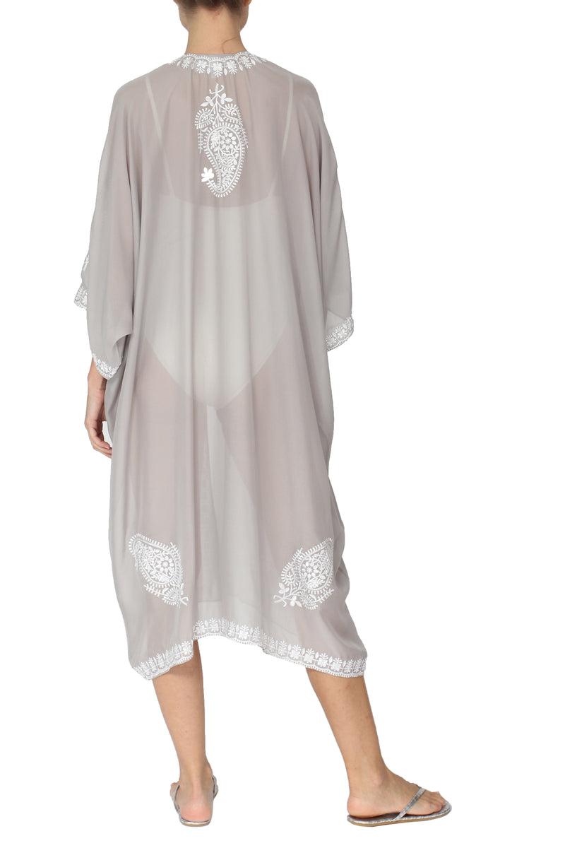 Embroidered Babani Cover Up