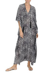 Rain Drop Lurex Embroidery Boubou