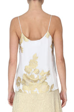Metallic Rose Short Cami