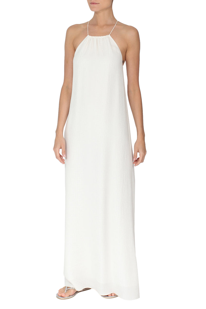 Croco Jacquard Sun Dress - Marie France Van Damme