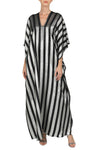 Metallic Stripe Boubou