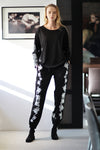 Embroidered Jogging Pants
