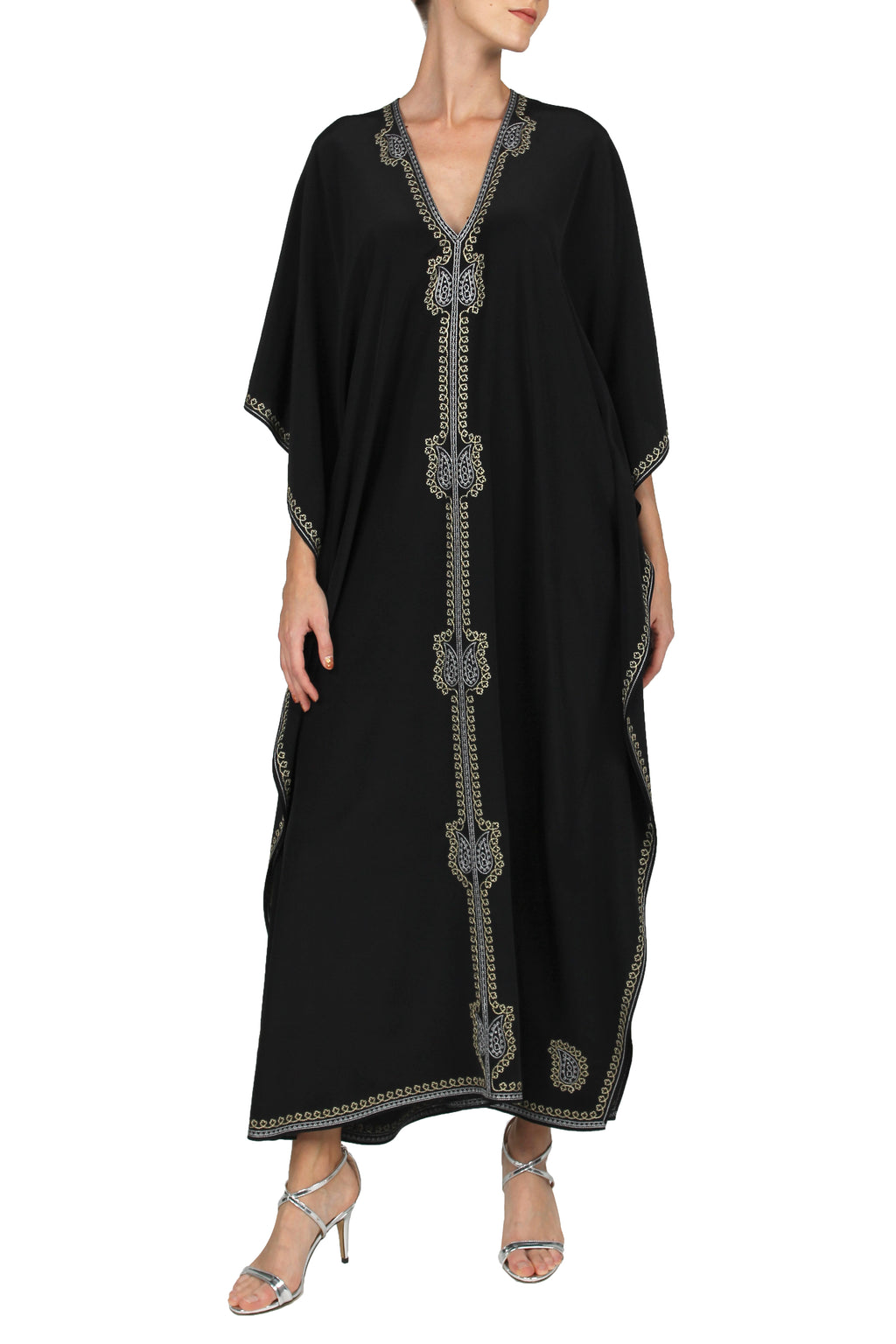Raindrop Embroidered Boubou