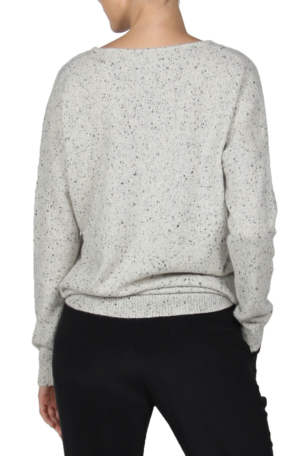 Frost Cashmere V Neck Sweater