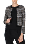 Tweed Metallic Jacket
