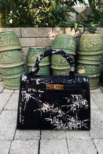 JAY AHR | Jungle Bamboo - Hermes Kelly 28