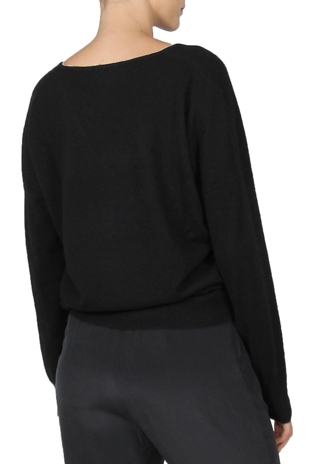 Cashmere Sweater V Neck Marie France Van Damme