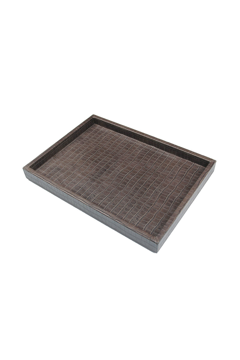 Croco Tray Marie France Van Damme