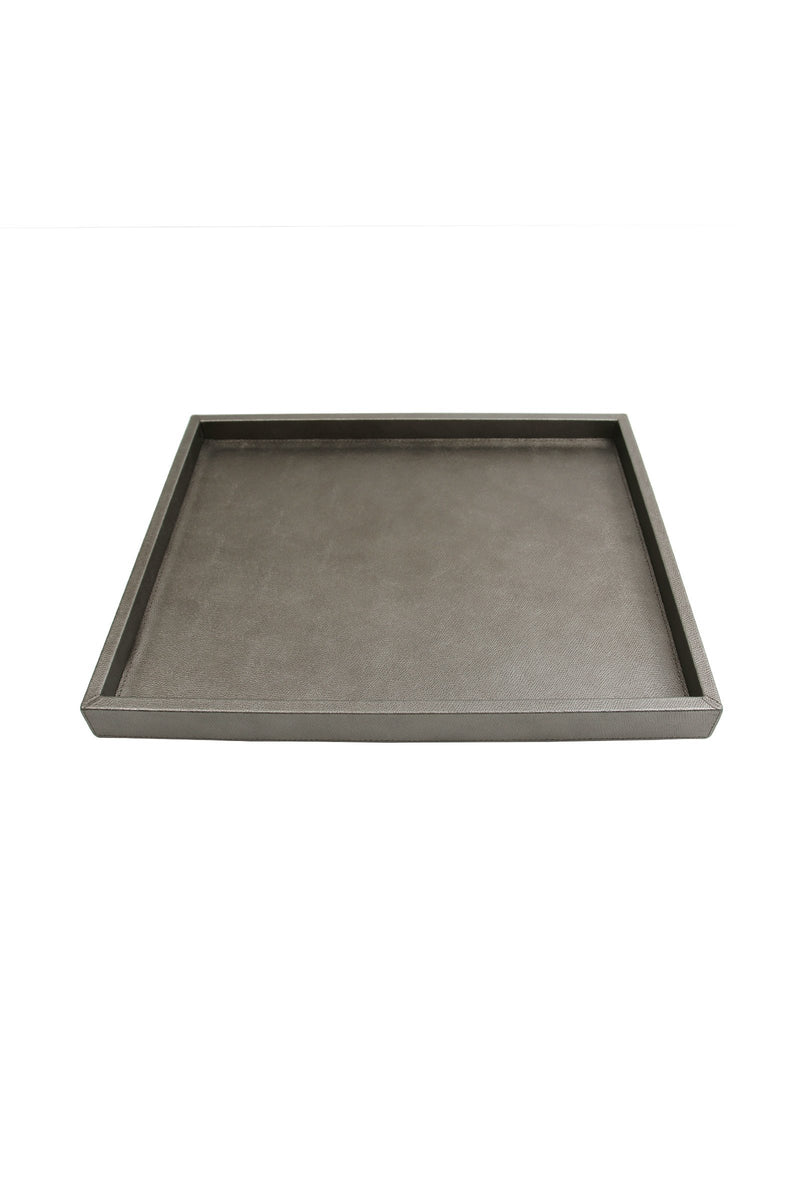 Dark Silver Medium Tray Marie France Van Damme