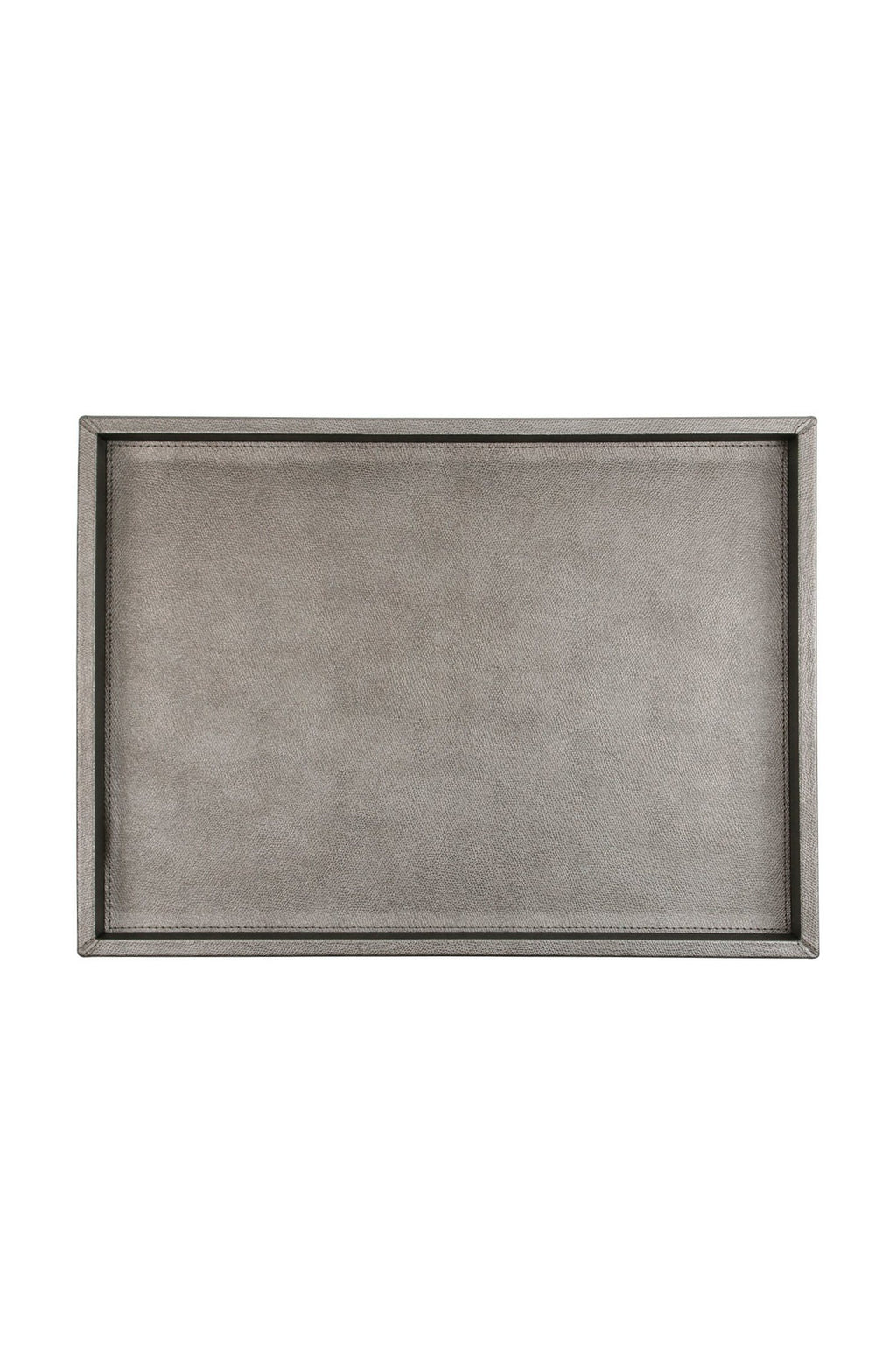 Dark Silver Medium Tray Marie France Van Damme Medium Dark Silver