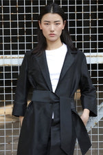 Full-Length Trench Coat Outerwear Marie France Van Damme
