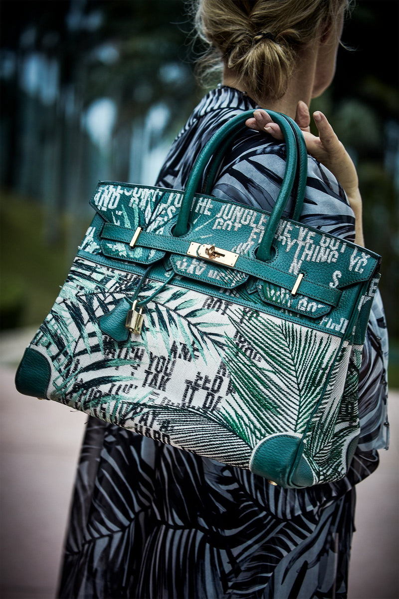 JAY AHR | Welcome to the Jungle Hermès Birkin 35 Marie France Van Damme