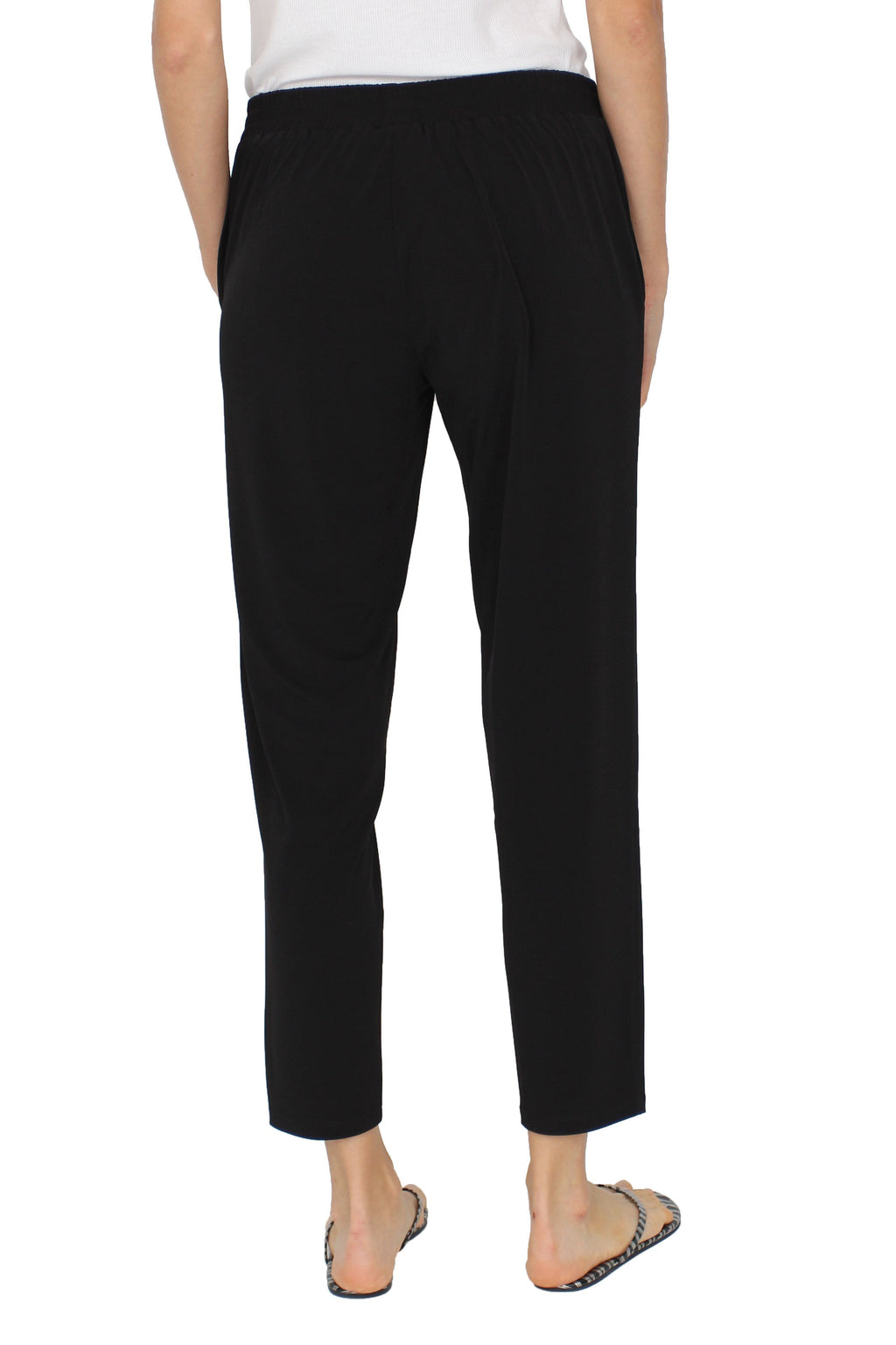 Jersey Cropped Pants Pants Marie France Van Damme