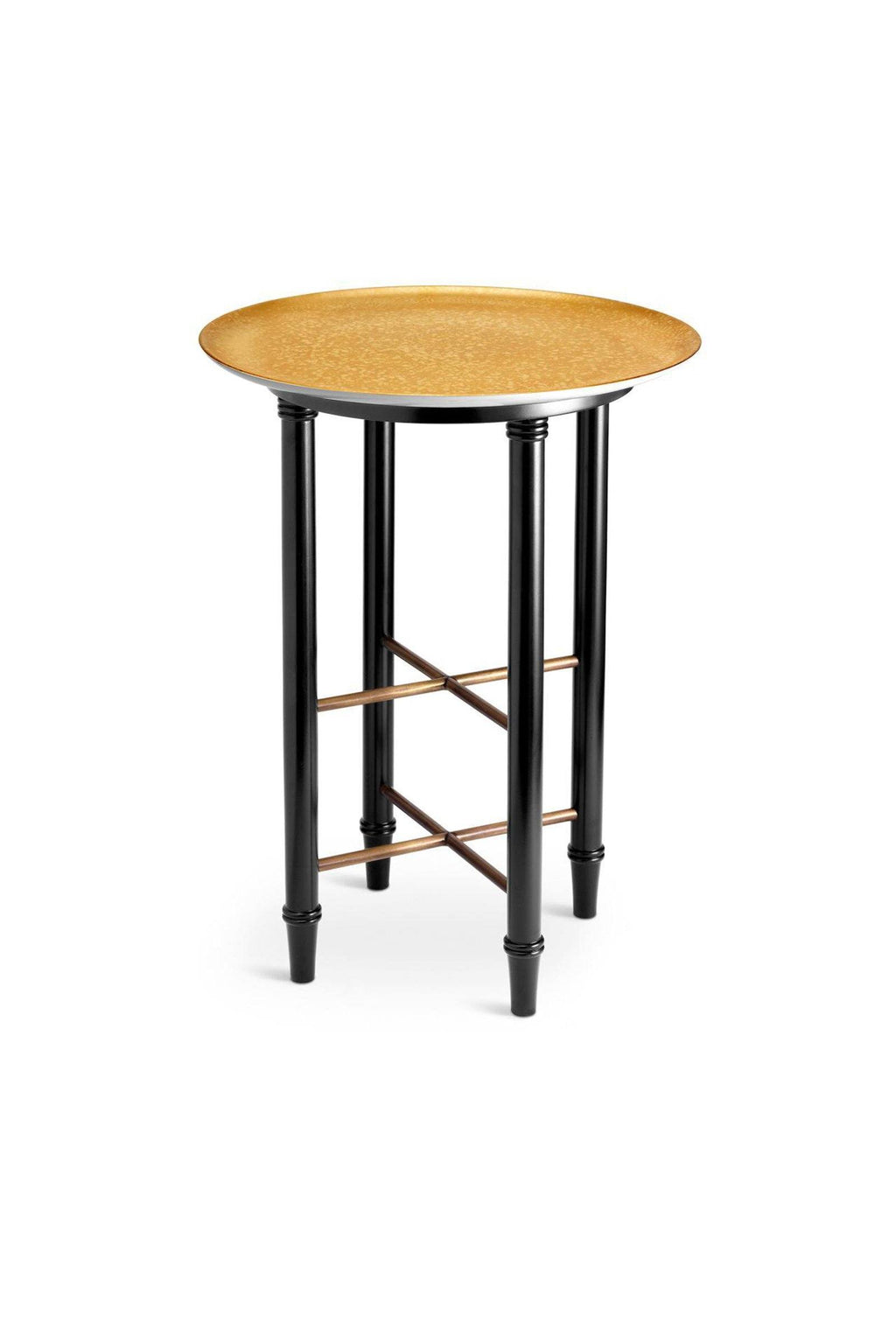 L'OBJET | Alchimie Side Table L'Objet Marie France Van Damme Gold