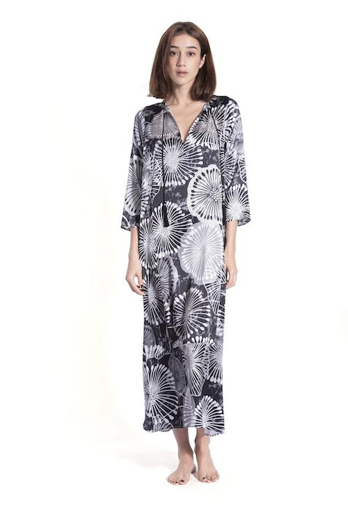 Long Hammer Dress Caftans Marie France Van Damme