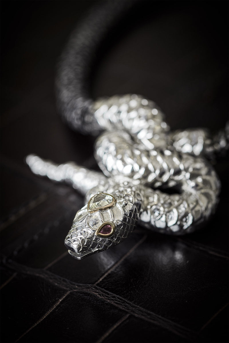 LOTUS | Snake Necklace Marie France Van Damme