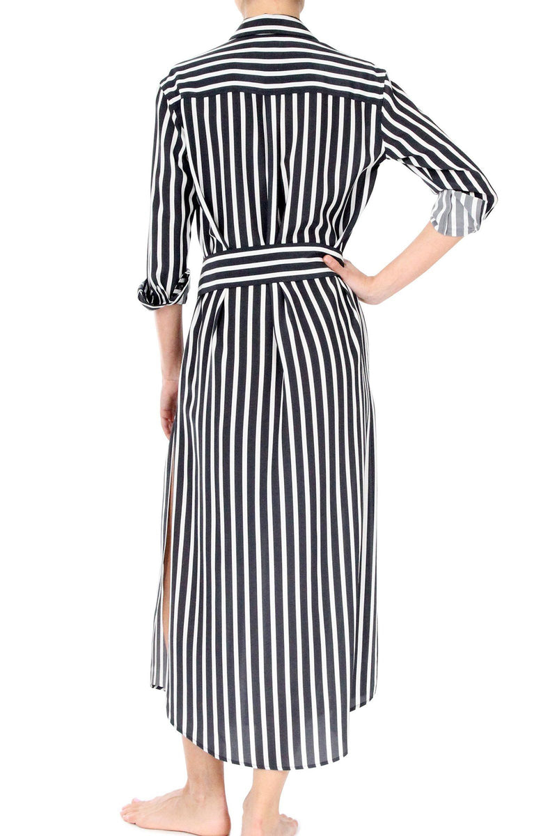 Maxi Button Down Dress Dresses Marie France Van Damme