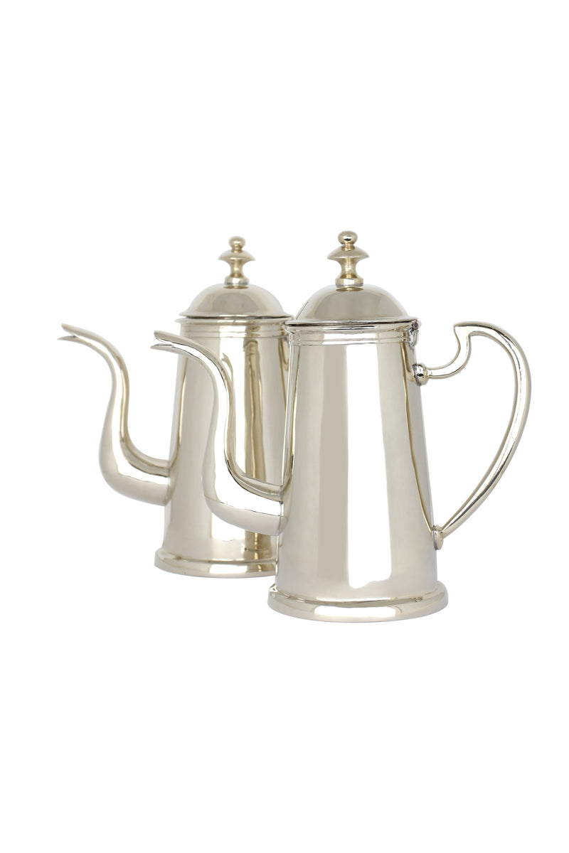 Moroccan Antique Coffee Pots Marie France Van Damme Silver