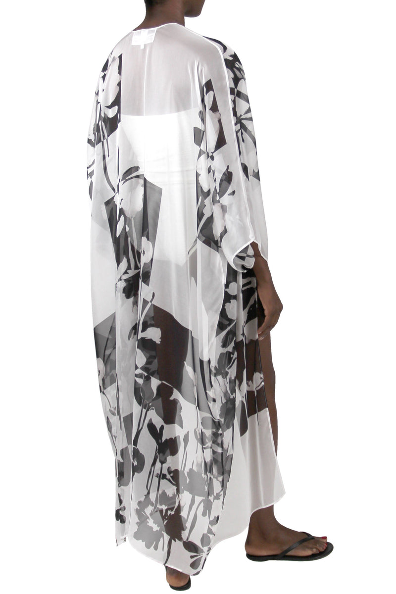 Printed Babani Cover Up Marie France Van Damme