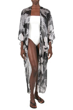 Printed Babani Cover Up Marie France Van Damme One Size Hawaii