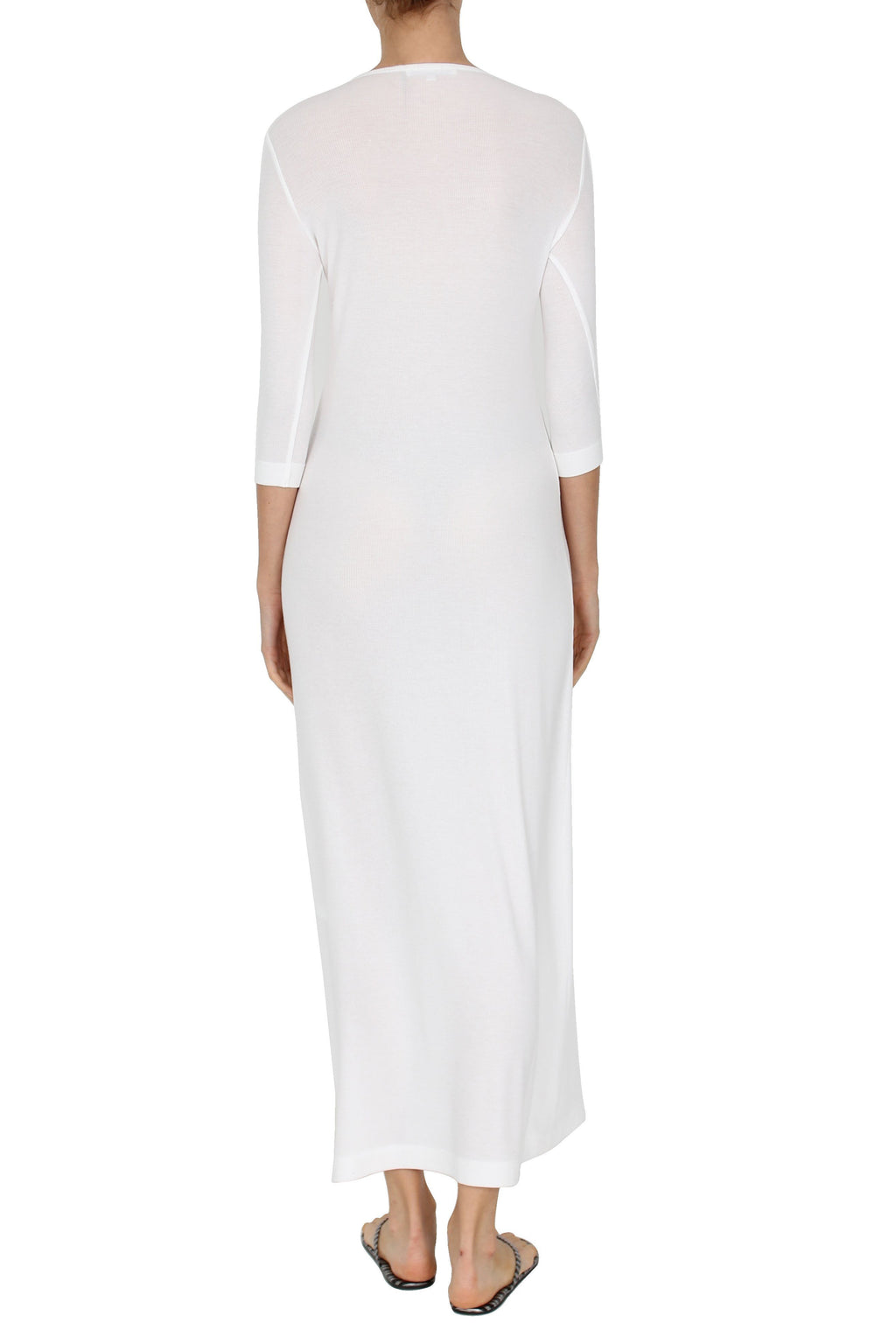 Ribbed Tunisien Dress Marie France Van Damme